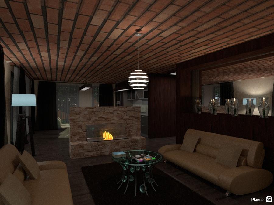 загородный дом house ideas planner 5d