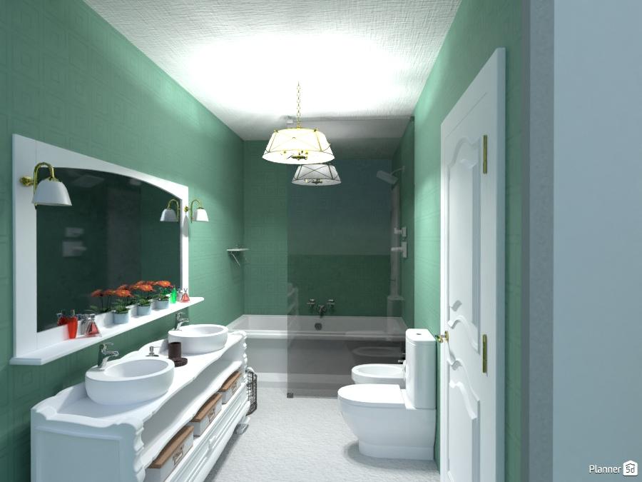 Casa banho quarto casal bathroom ideas planner 5d for Bathroom design 5d