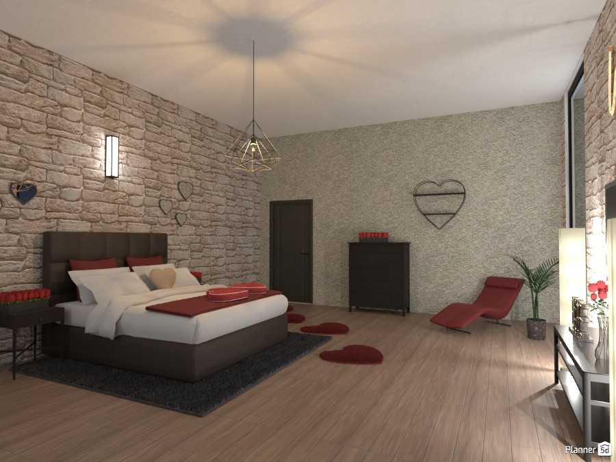 Valentine's Day Bedroom 3999325 by EMG Builds image