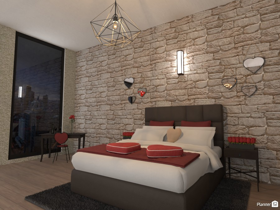 Valentine's Day Bedroom 3999330 by EMG Builds image