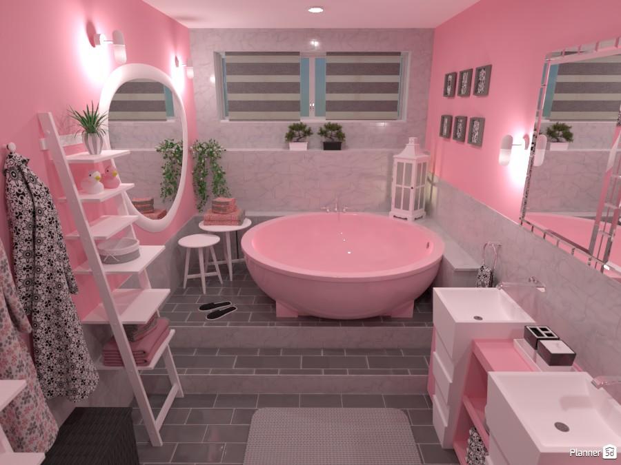 Contest: pastel bathroom 4057741 by Elena Z image