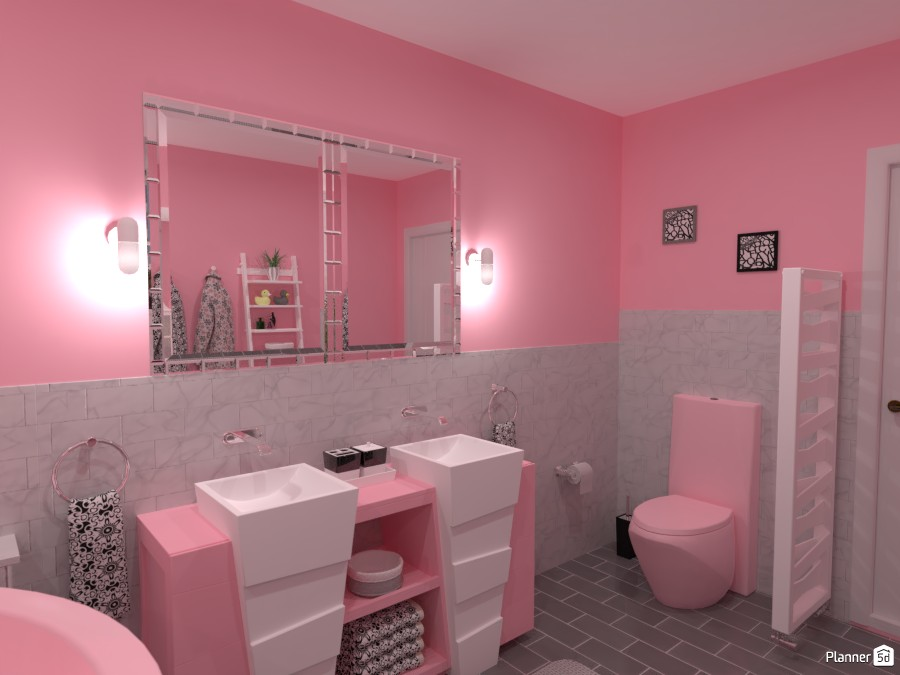 Contest: pastel bathroom IV 4057962 by Elena Z image