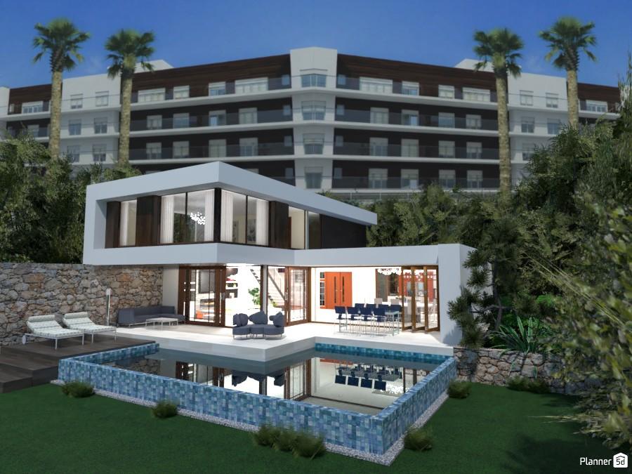 Casa moderna vacacional 3860950 by MariaCris image