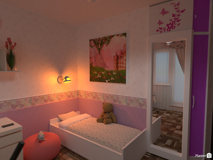 Daughter's room 3466274 by Roman Rabinovich image