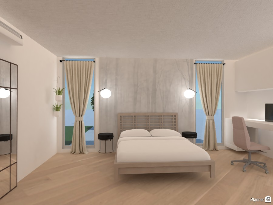 Scandi bedroom 3755017 by polinaminkina image