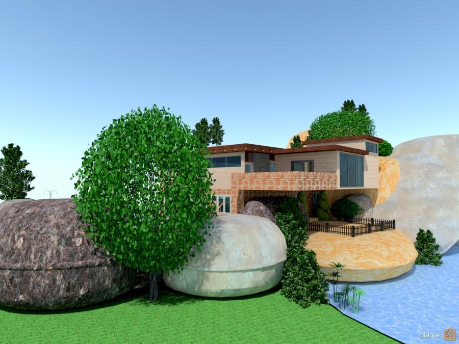 Rock House  288325 by Micaela Maccaferri image