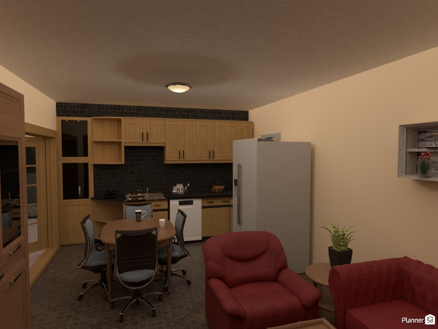 Kitchen/Living 3706159 by HERricane CAMILLE image