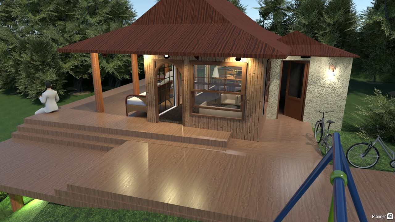 RUSTIC WOOD BUNGALOW 3766980 by Junior Alves image