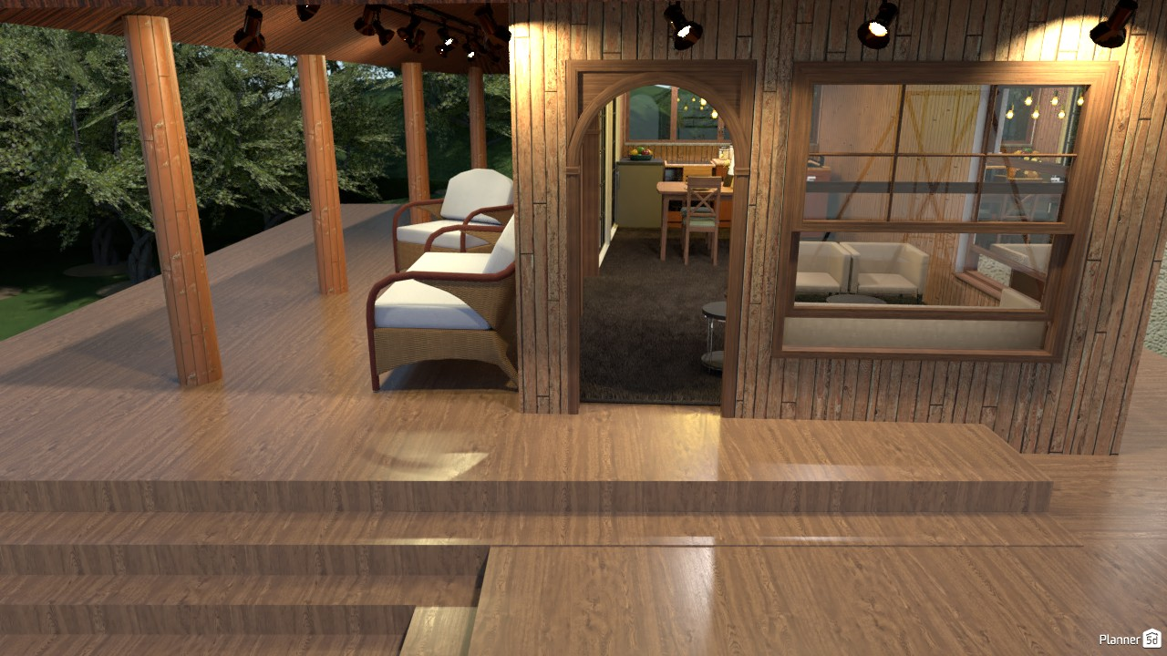RUSTIC WOOD BUNGALOW 3766996 by Junior Alves image
