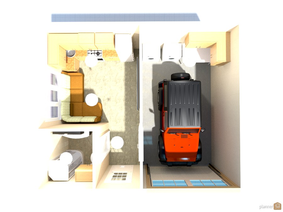 garage studio apartment 772914 by Joy Suiter image