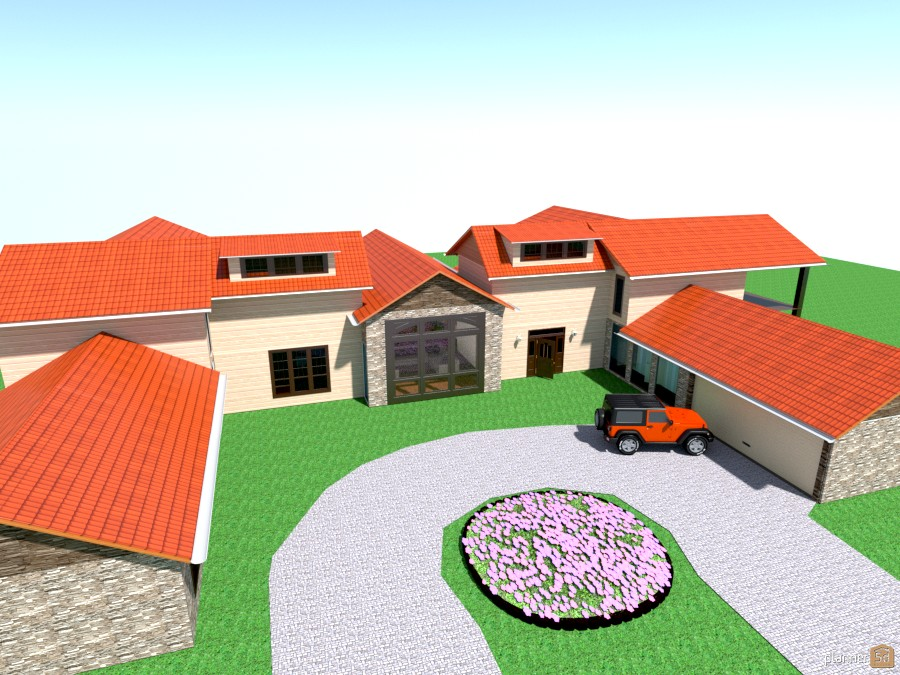 Ushape with roof 586190 by User 2526325 image