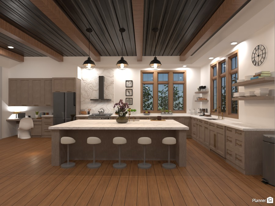 Tudor House Kitchen/Dining Room (Angle 3) 3872692 by DesignKing image