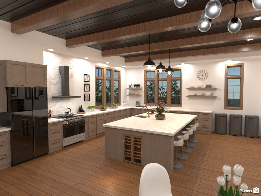 Tudor House Kitchen/Dining Room (Angle 6) 3872704 by DesignKing image