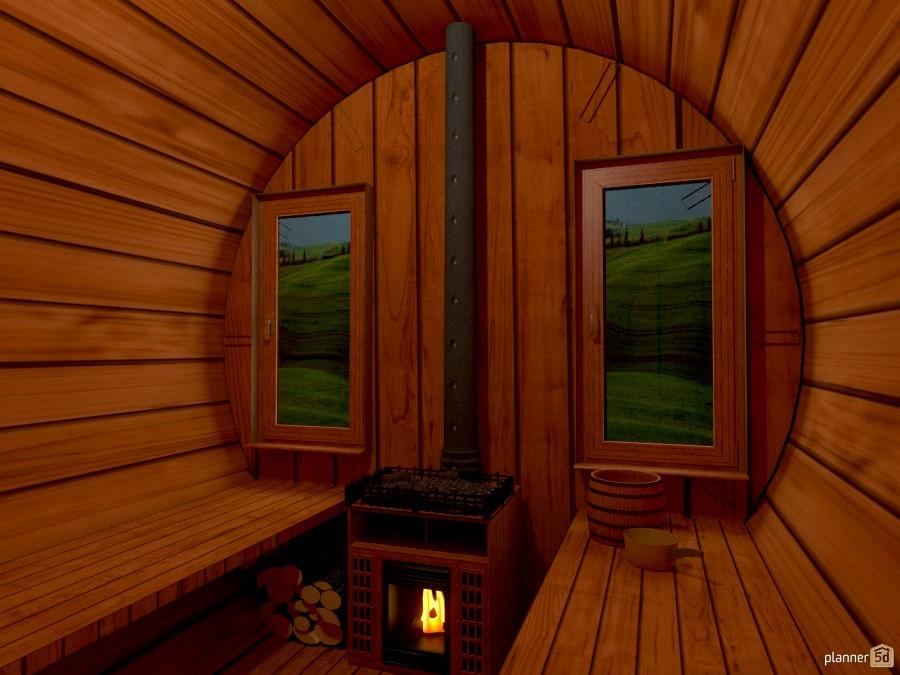 Sauna Finlandese Interno DIY Ideas Planner 5D