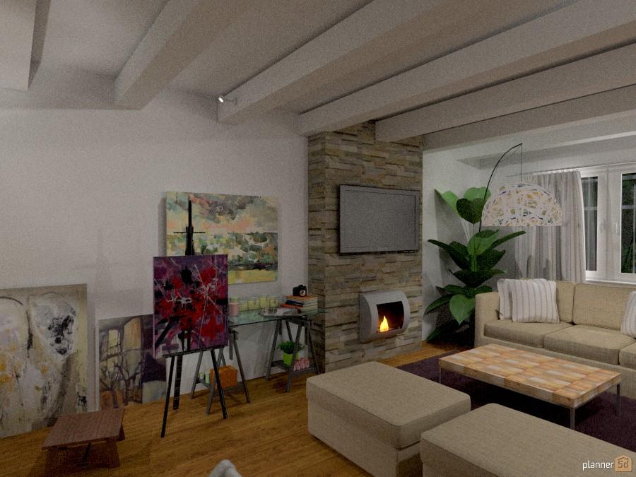 casa di campagna (salotto) 1185081 by Svetlana Baitchourina image