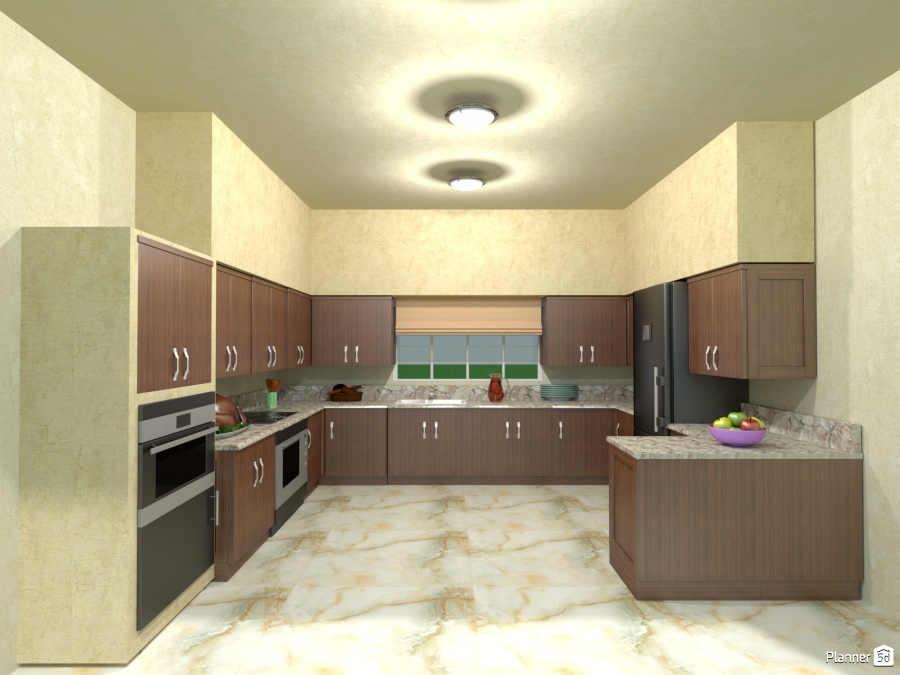 Large Family Kitchen House Ideas Planner 5d