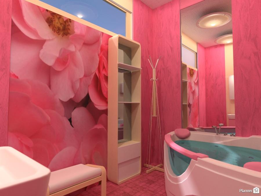 Розовая ванная комната 2051516 by Татьяна image