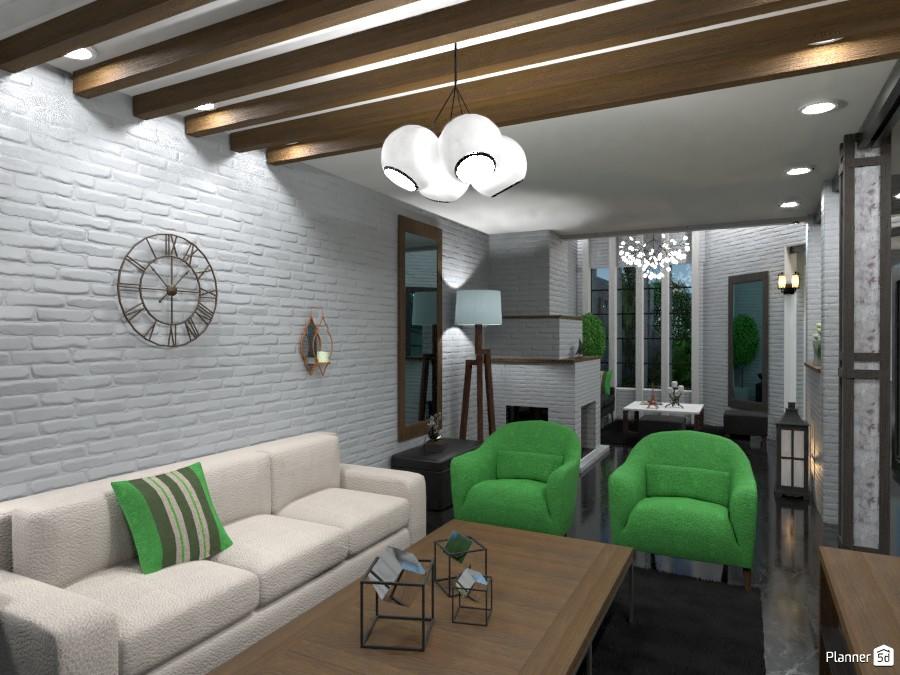 Casa Colonial -Living Before- 3472988 by Ezequiel Marotta image