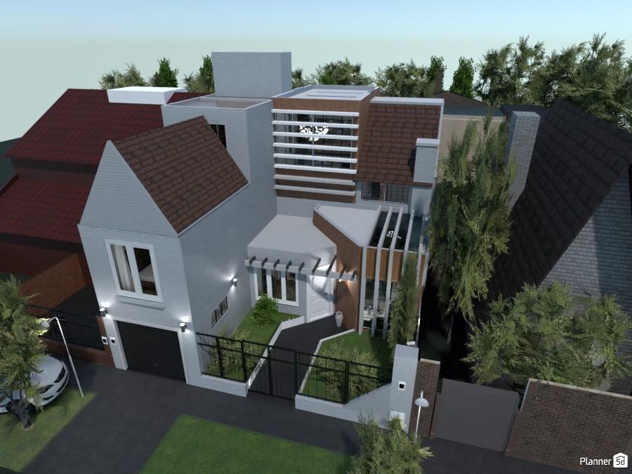 Casa Colonial Jardin -Front Before- 3588828 by Ezequiel Marotta image