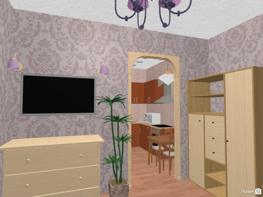 студия 19 кв.м. 70918 by Ирина Михайловна image