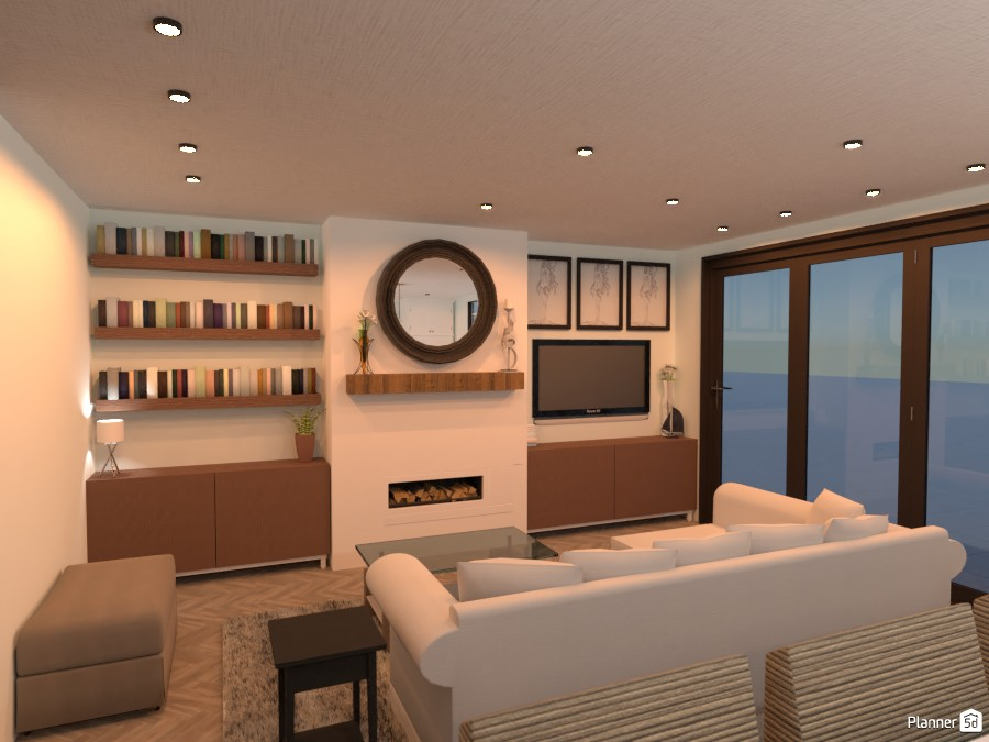 London-Inspired Living Room 3713629 by Isabel image