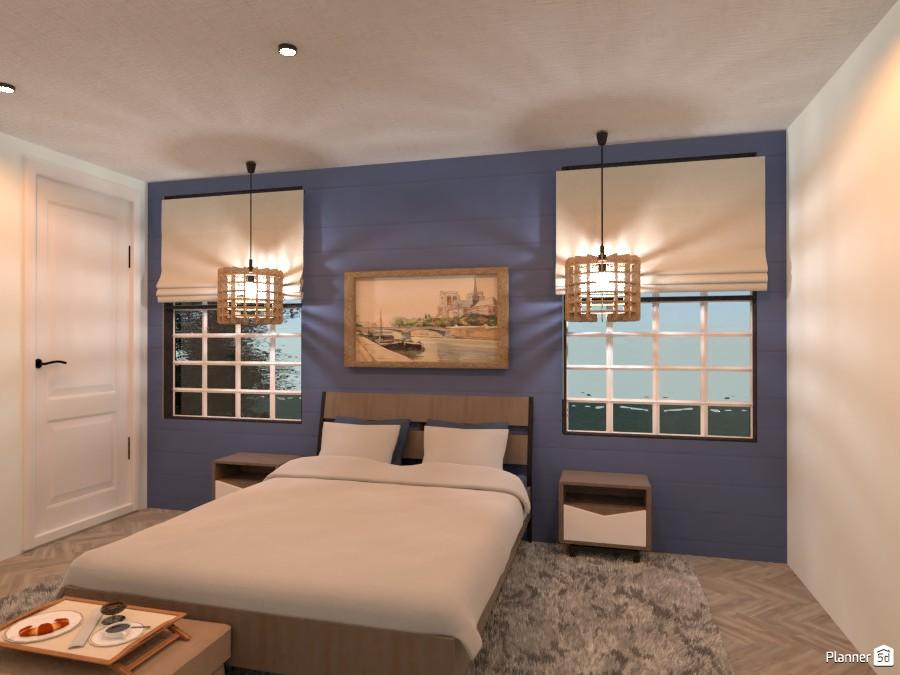 London/Coastal-Inspired Bedroom 3716791 by Isabel image