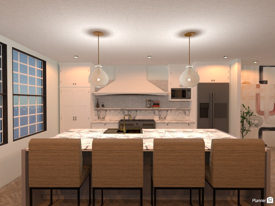 London-Inspired Kitchen 3713630 by Isabel image