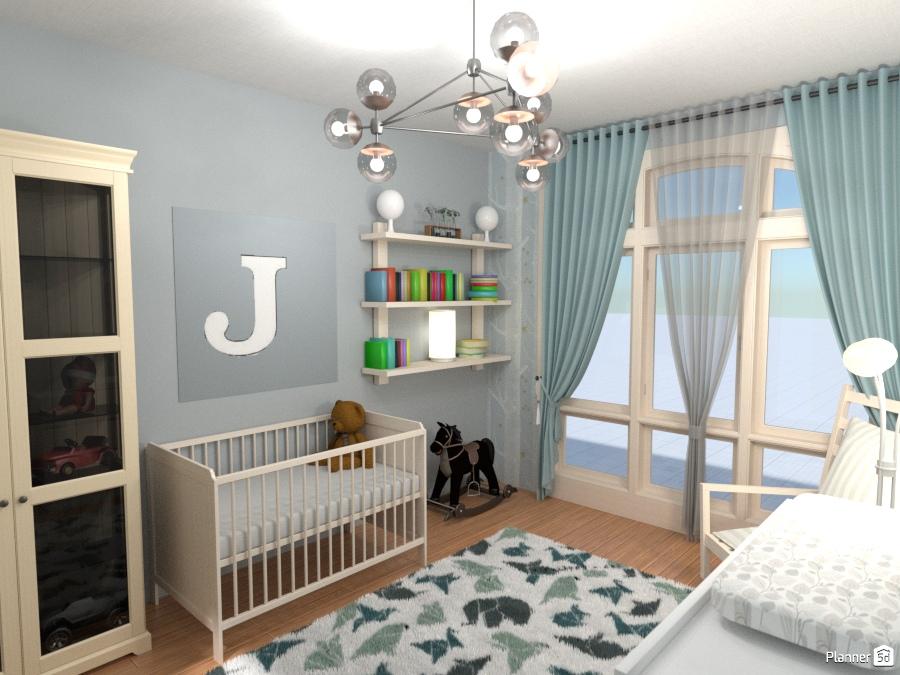 A Baby Boy Nursery Free Online Design