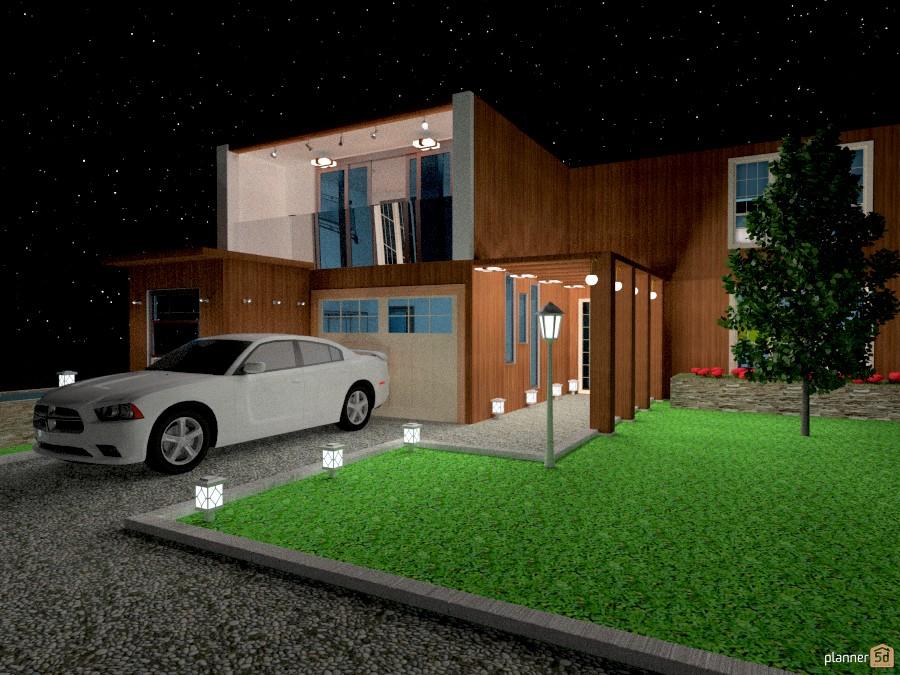 large garage lighting ideas | My dream big house - House ideas - Planner 5D