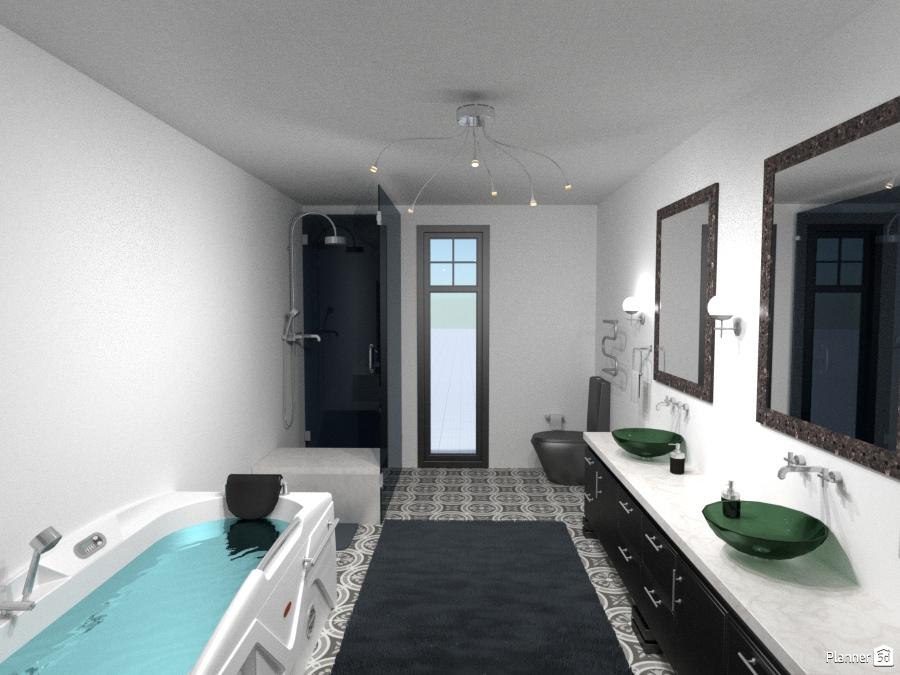 NYC Apartment Bath 1605309 by Gigi image