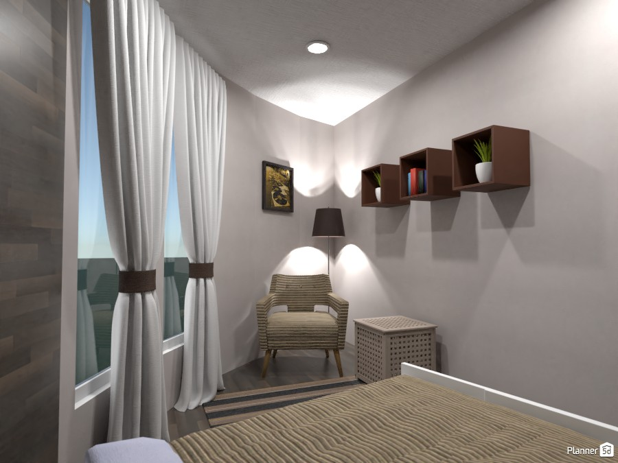 Round house withe modern interior 3746096 by Gabes image