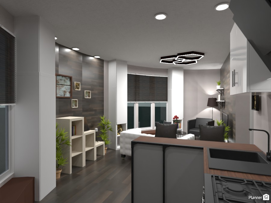 Round house withe modern interior 3746086 by Gabes image