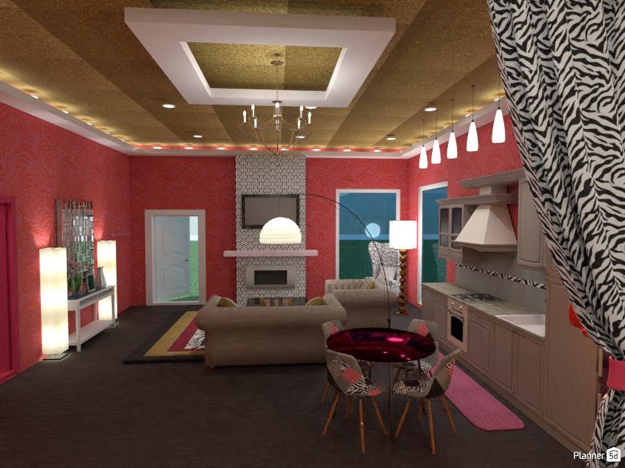 It 39 s a barbie 39 s world house ideas planner 5d for Sala de estar barbie