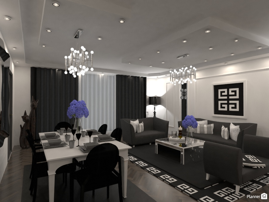 LUXURY LIVING ROOM 76787 by M SECK image