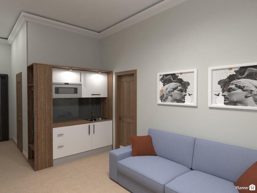 Design hotel room 73696 by Татьяна Максимова image