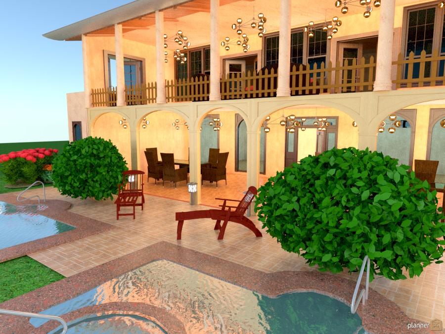 casa coloñial moderna 251272 by josue Parrales Murillo image