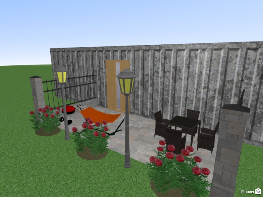 Shipping Container Home Free Online Design 3d Floor Plans By Planner 5d