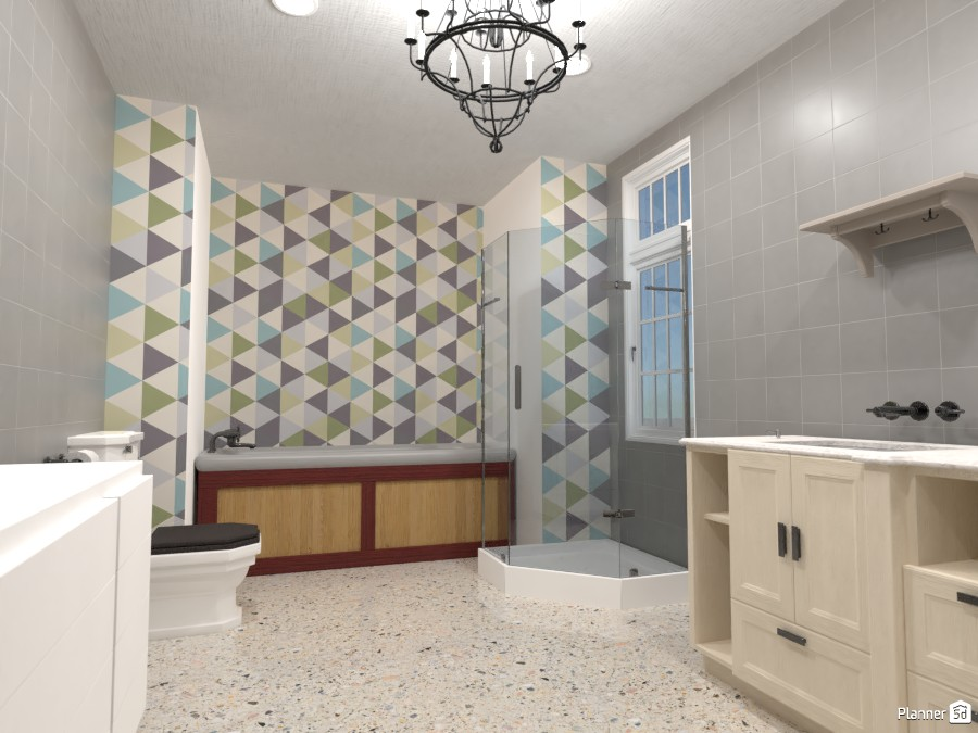 Country style bathroom 3905241 by Mark image