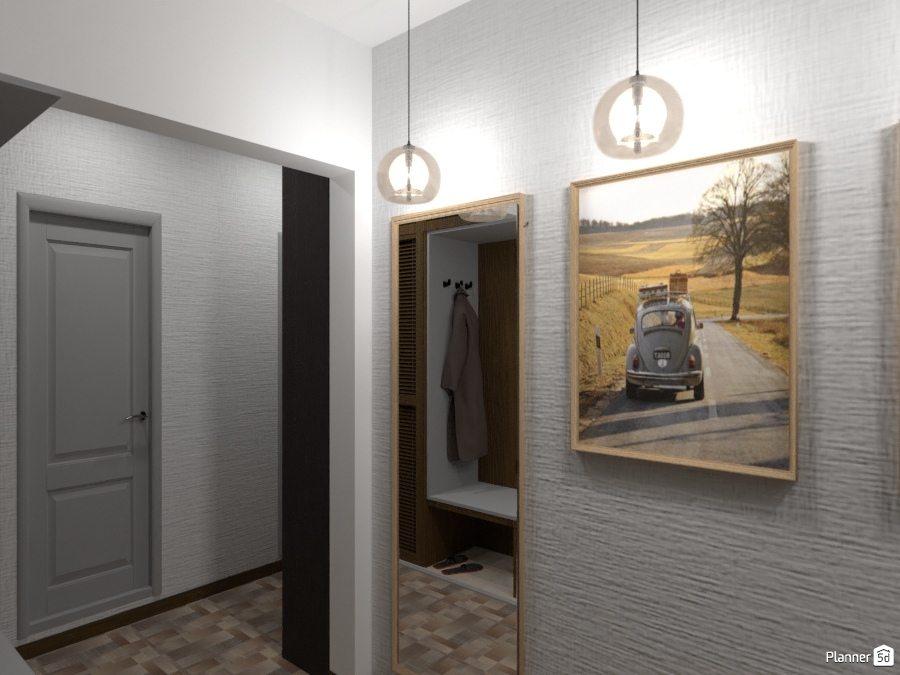 Дизайн коридора 2463377 by Татьяна Максимова image