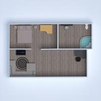 floorplans apartment house furniture bathroom bedroom living room garage kitchen dining room 3d