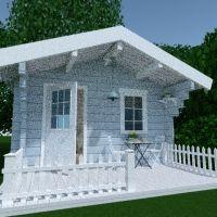 floorplans casa varanda inferior mobiliário decoração rua 3d