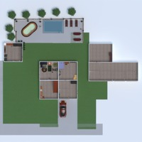 floorplans house furniture decor bathroom bedroom living room garage kitchen outdoor lighting storage 3d