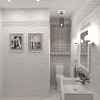 floorplans apartamento casa casa de banho iluminação reparar armazenamento 3d