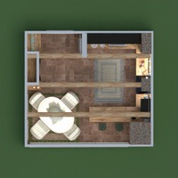 planos casa muebles sala de estar cocina iluminación reparación comedor 3d