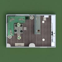 floorplans furniture decor kitchen lighting household storage 3d