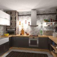 floorplans house furniture kitchen dining room 3d