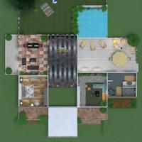 planos casa terraza muebles decoración cuarto de baño dormitorio sala de estar garaje cocina afuera iluminación reparación diseño del paisaje comedor arquitectura antecámara 3d