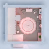 planos casa muebles decoración habitación infantil iluminación almacenaje 3d