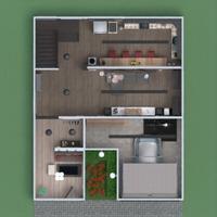 floorplans house terrace furniture bathroom bedroom living room garage kitchen lighting dining room 3d
