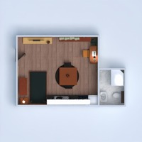 floorplans apartment decor bathroom bedroom living room kitchen 3d